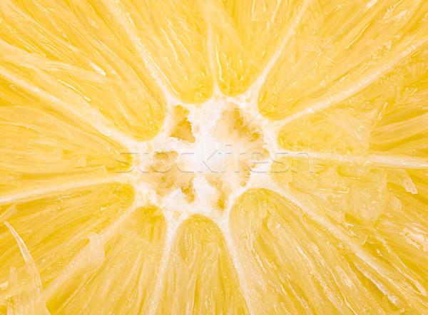 Limão macro tiro comida abstrato natureza Foto stock © ungpaoman