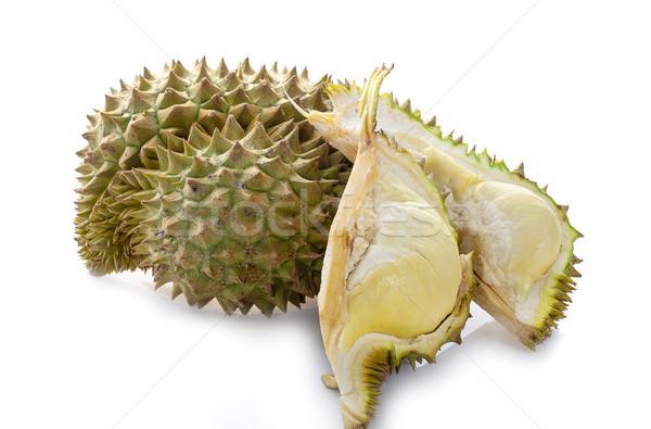 Branco árvore fruto asiático tropical Ásia Foto stock © ungpaoman