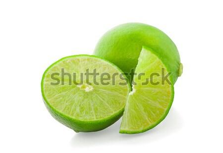 Cal isolado branco fruto fundo cor Foto stock © ungpaoman