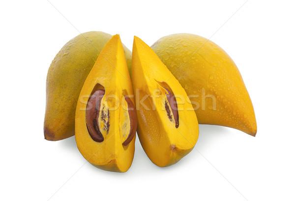 Ovo fruto amarelo comida natureza saúde Foto stock © ungpaoman