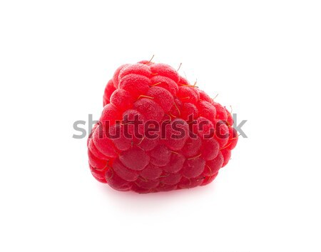 ripe raspberry isolated on white background close up Stock photo © ungpaoman