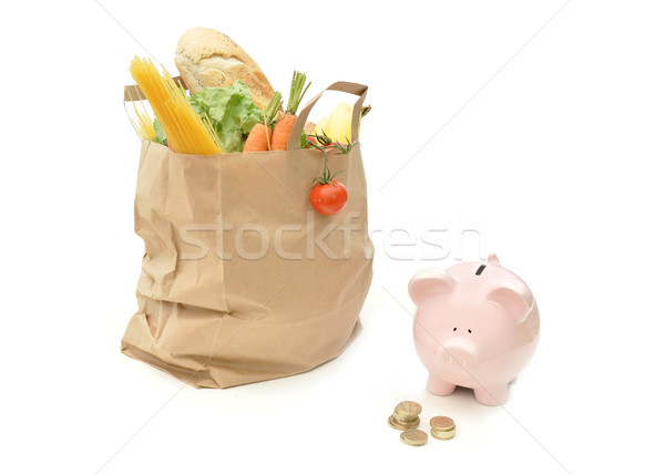 Grocery food budget Stock photo © unikpix