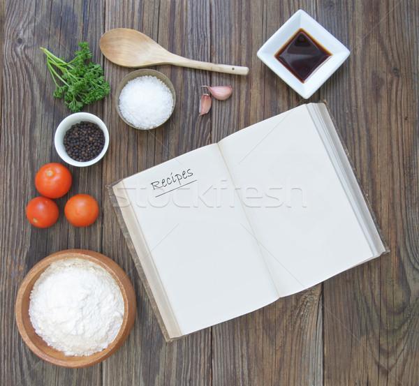Recipe book  Stock photo © unikpix