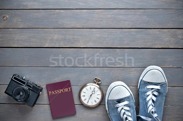 Travel background Stock photo © unikpix