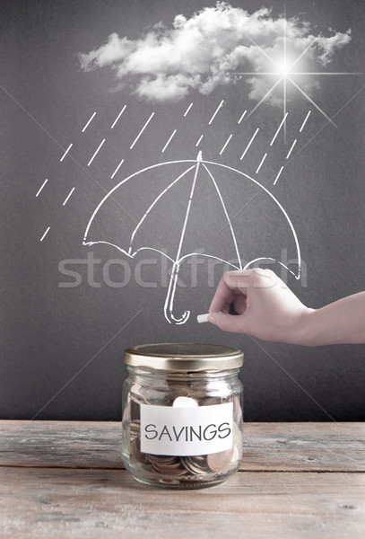 Savings insurance Stock photo © unikpix