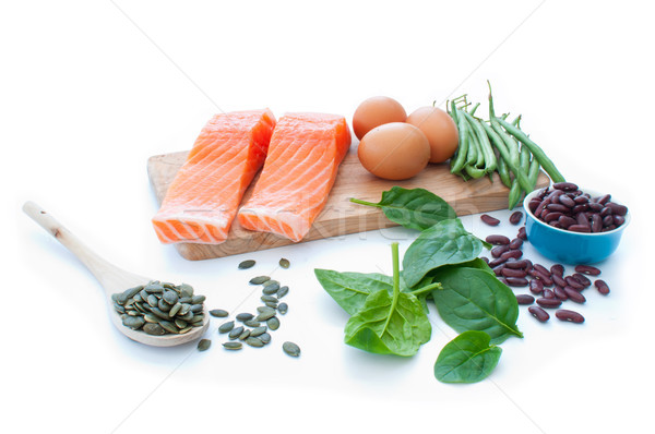 Stock photo: Protein superfood diet