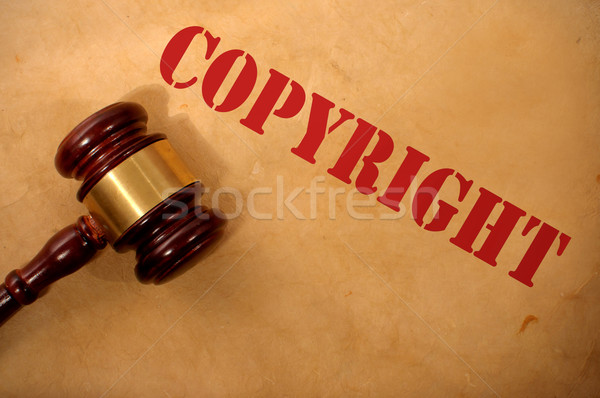 Copyright law concept  Stock photo © unikpix