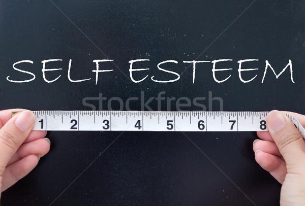 Stock photo: Self esteem