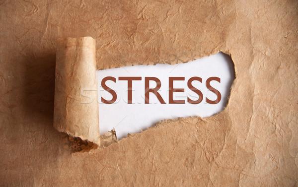 Uncovering stress Stock photo © unikpix
