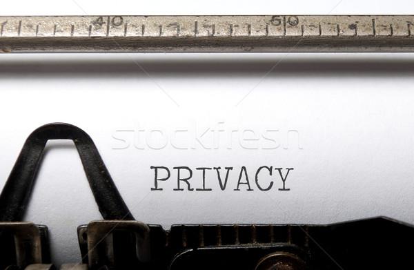 Privacy Stock photo © unikpix