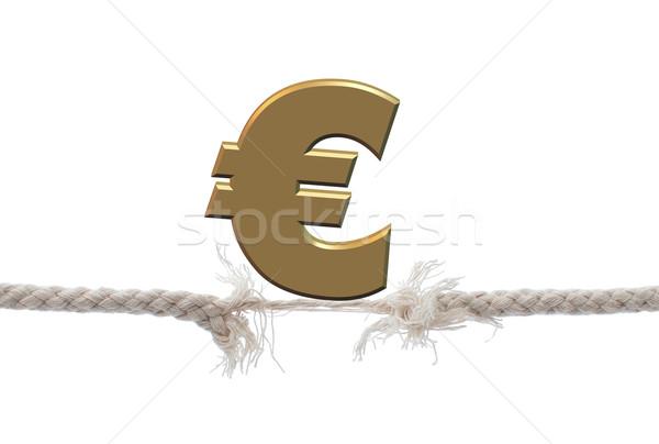 Falling euro Stock photo © unikpix