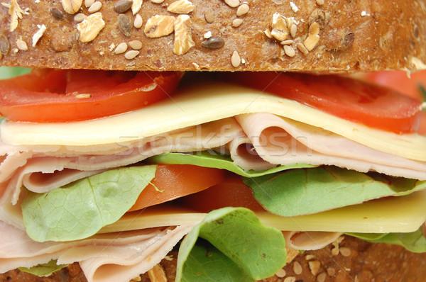 сэндвич хлеб сыра томатный Сток-фото © unikpix