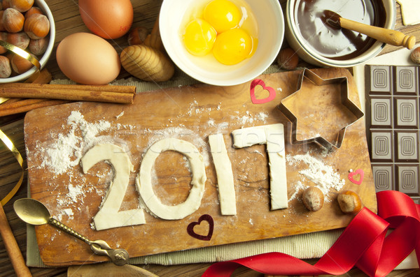 2017 new year  Stock photo © unikpix