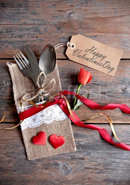 Happy valentines day Stock photo © unikpix