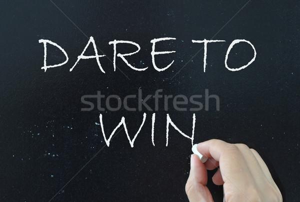 Dare to win Stock photo © unikpix