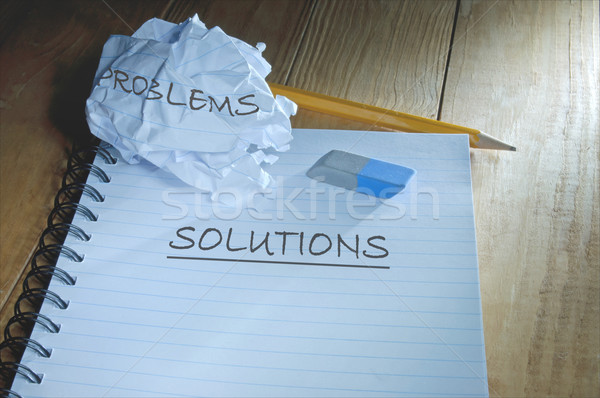 Problems and solutions Stock photo © unikpix