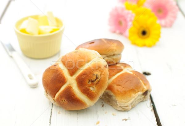 Hot cross buns Stock photo © unikpix
