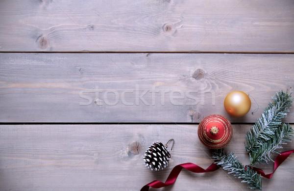 Stock photo: Christmas background