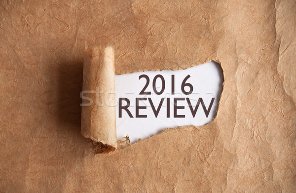 2016 review Stock photo © unikpix