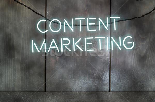 Content marketing Stock photo © unikpix