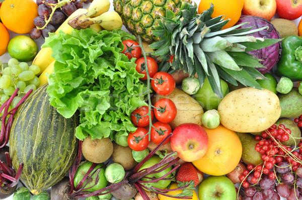 фрукты овощей массив зрелый плодов продовольствие Сток-фото © unikpix