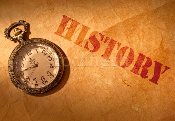 History Stock photo © unikpix