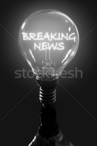Breaking news  Stock photo © unikpix