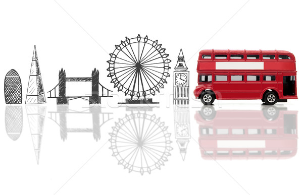 London tourist landmarks Stock photo © unikpix