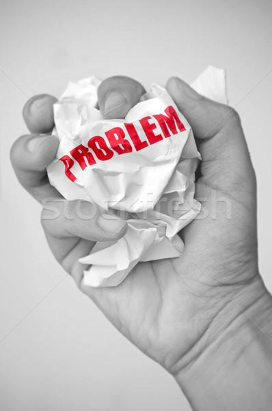 Problem  Stock photo © unikpix