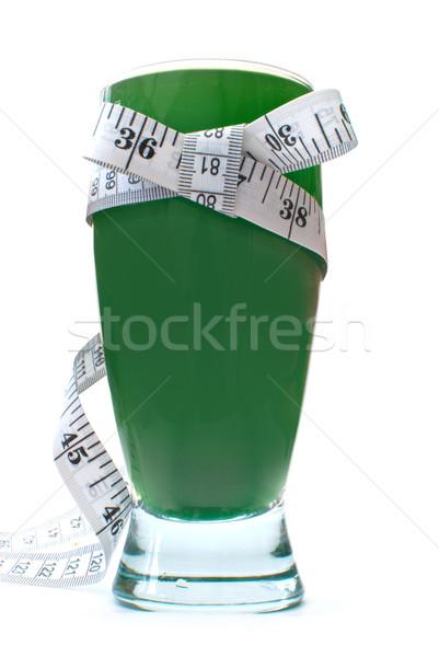 Green vegetable smoothie drink Stock photo © unikpix