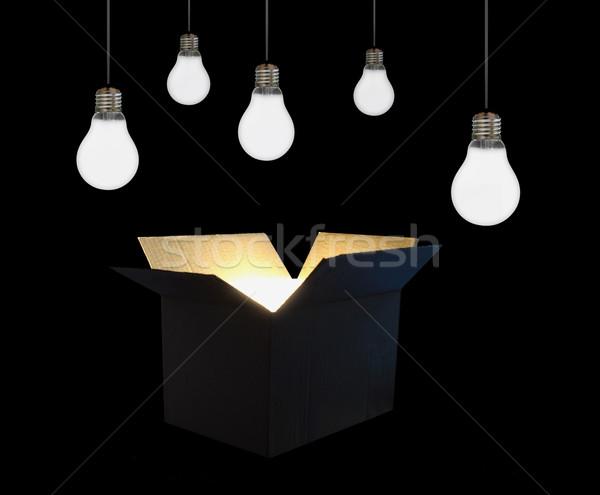 Think outside the box  Stock photo © unikpix
