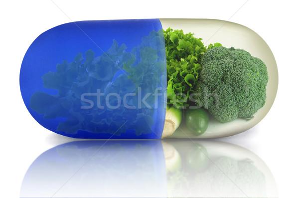 зеленый растительное овощей продовольствие Сток-фото © unikpix