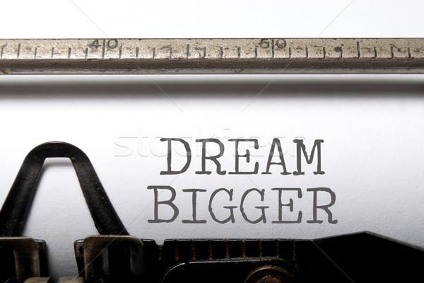 Dream big Stock photo © unikpix