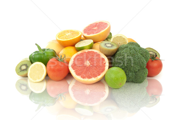Vitamin c rich fruits and vegetables  Stock photo © unikpix