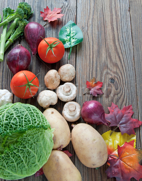 Organic food background Stock photo © unikpix