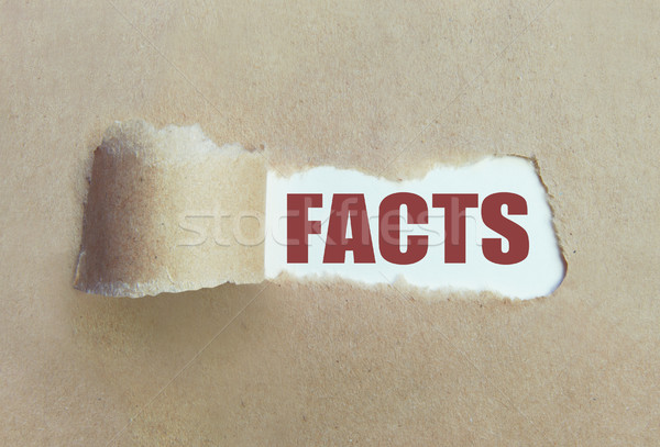 Uncovering the facts  Stock photo © unikpix