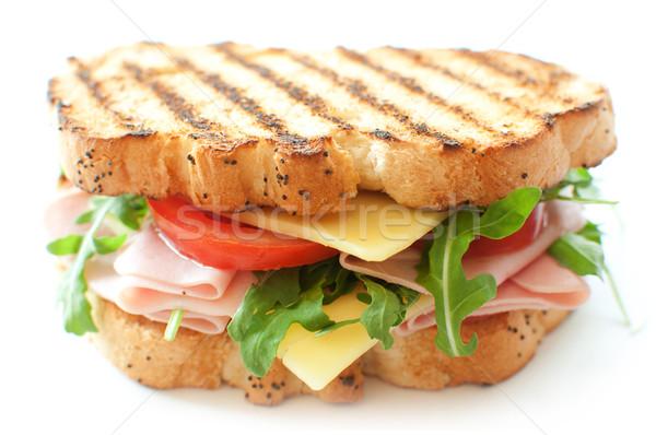 Grilled deli sandwich Stock photo © unikpix