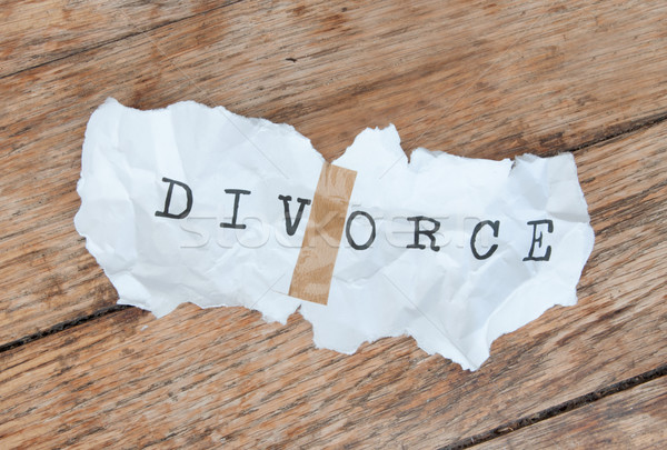 Divorce  Stock photo © unikpix