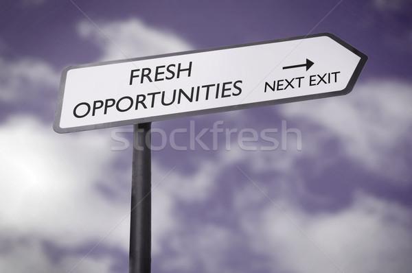 Fresh opportunities  Stock photo © unikpix