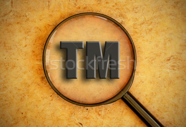Trademark symbol Stock photo © unikpix