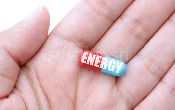 Energy pill Stock photo © unikpix
