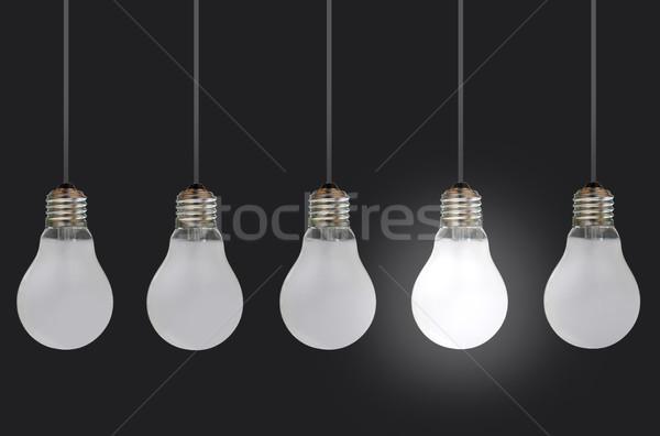 один лампа уникальность инновационный Сток-фото © unikpix