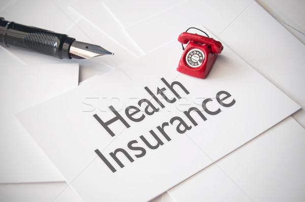 Health insurance  Stock photo © unikpix