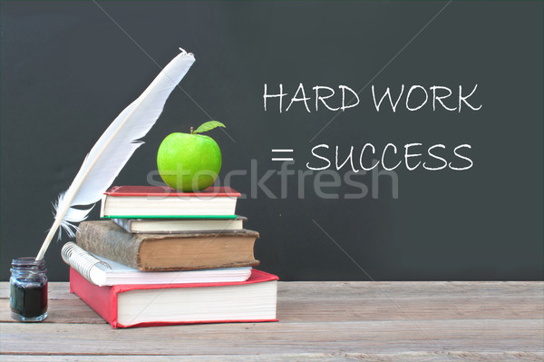 Hard work equals success  Stock photo © unikpix