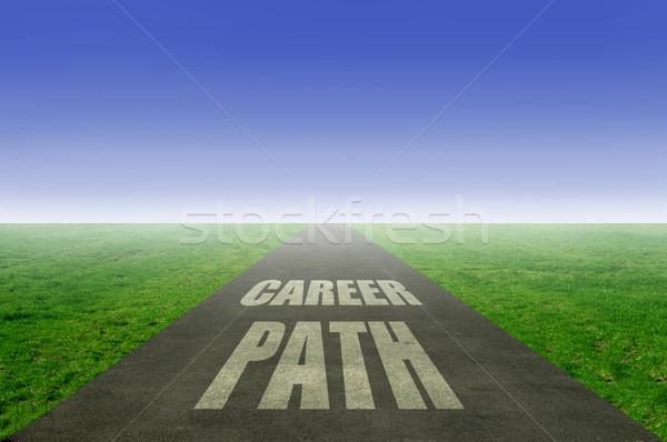 Career path Stock photo © unikpix