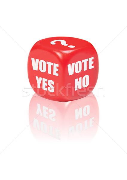 Vote yes no  Stock photo © unikpix