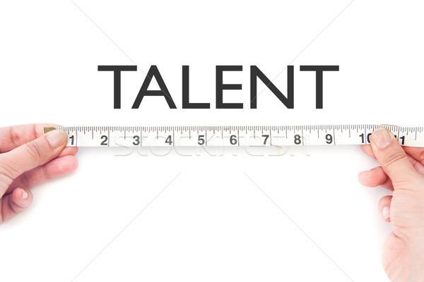 Talent bande mot mains éducation Photo stock © unikpix