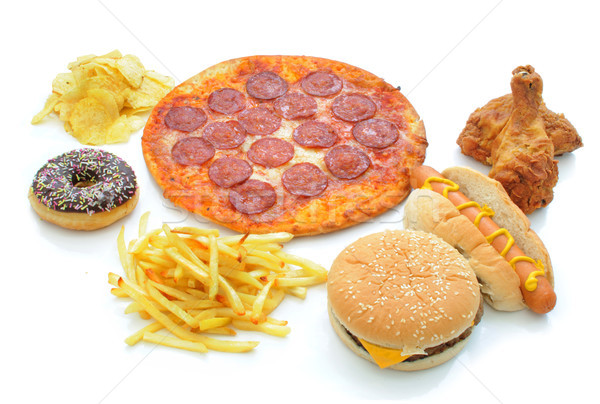 Fast food collection Stock photo © unikpix