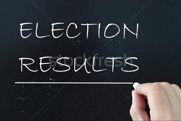 выборы мелом совета доске Сток-фото © unikpix