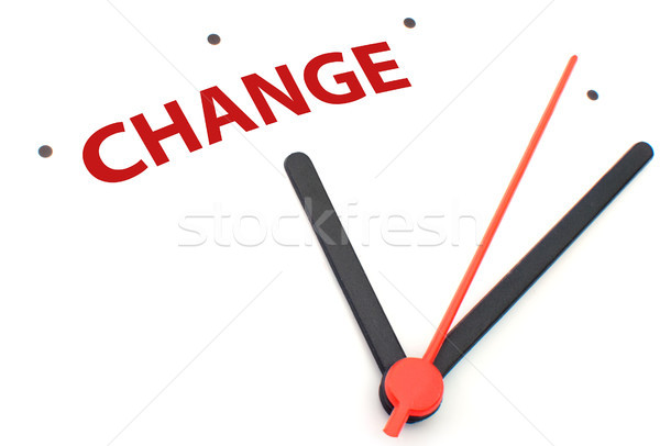 Time for change Stock photo © unikpix